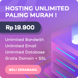 Hosting unlimited ter-murah | Domain unlimited ter-murah